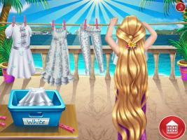 Rapunzel Lava Roupas - screenshot 2