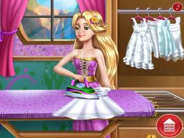 Rapunzel Lava Roupas - screenshot 3
