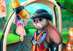 Repare o Carro Policial de Judy
