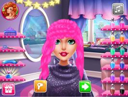 Salão de Cabeleireiro da Barbie - screenshot 2