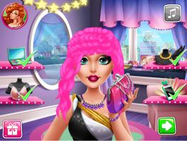 Salão de Cabeleireiro da Barbie - screenshot 3