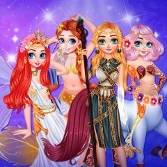 Jogo Transforme as Princesas em Criaturas Mágicas