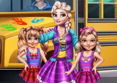 Vestir as Meninas Para o Colégio