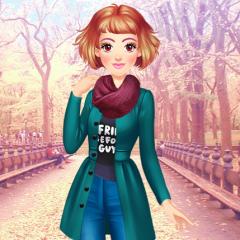 Jogo Vestir Visual de Outono