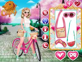 Vista a Barbie e Pinte a Bicicleta - screenshot 2