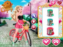 Vista a Barbie e Pinte a Bicicleta - screenshot 3