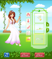 Princesa Posando no Jardim - screenshot 1