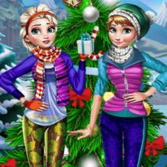 Jogo Vista Elsa Para a Neve